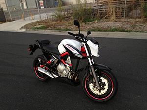 CF Moto CF 650NK спортбайк CF 650NK