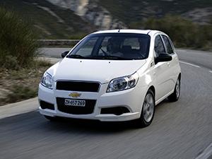 Chevrolet Aveo 5 дв. хэтчбек Aveo