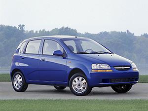 Chevrolet Aveo 5 дв. хэтчбек Aveo (T200)