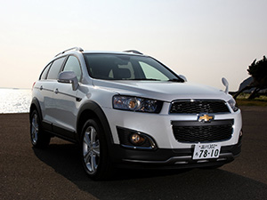 Chevrolet Captiva 5 дв. внедорожник Captiva