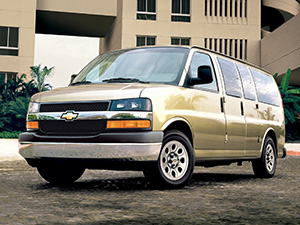 Chevrolet Express 5 дв. минивэн Express