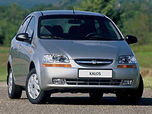 Chevrolet Kalos 4 дв. седан Kalos