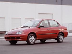 Chevrolet Metro 4 дв. седан Metro