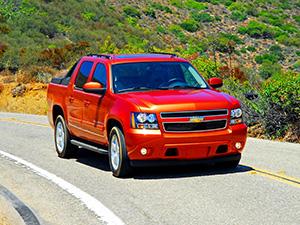 Технические характеристики Chevrolet Avalanche 6.0 4WD 2007- г.