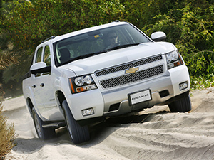 Технические характеристики Chevrolet Avalanche
