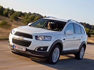 Технические характеристики Chevrolet Captiva