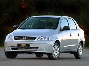 Технические характеристики Chevrolet Corsa
