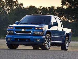 Технические характеристики Chevrolet Colorado Crew Cab 5.3 4WD 2004-2012 г.