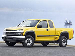 Технические характеристики Chevrolet Colorado Extended Cab 5.3 4WD 2004-2012 г.