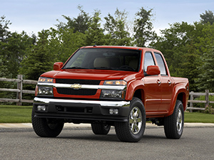 Технические характеристики Chevrolet Colorado