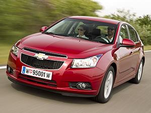 Технические характеристики Chevrolet Cruze 1.4 2012- г.