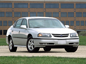 Технические характеристики Chevrolet Impala 3.4 2000-2005 г.