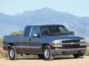 Технические характеристики Chevrolet Silverado 1500 Regular Cab 5.3 1998-2002 г.