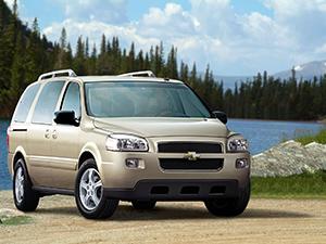 Технические характеристики Chevrolet Uplander 3.9 V6 LWB 2004-2008 г.
