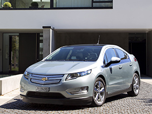 Технические характеристики Chevrolet Volt