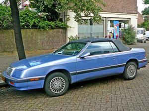 Chrysler Le Baron 2 дв. кабриолет Convertible