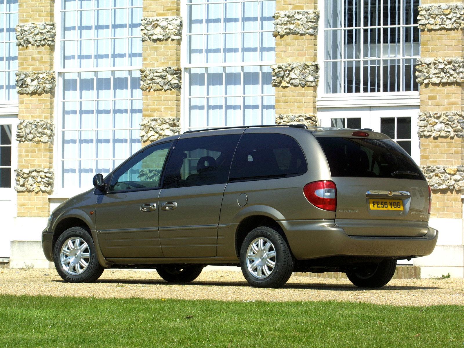 Chrysler (Крайслер) Grand Voyager 2004-2008 г.