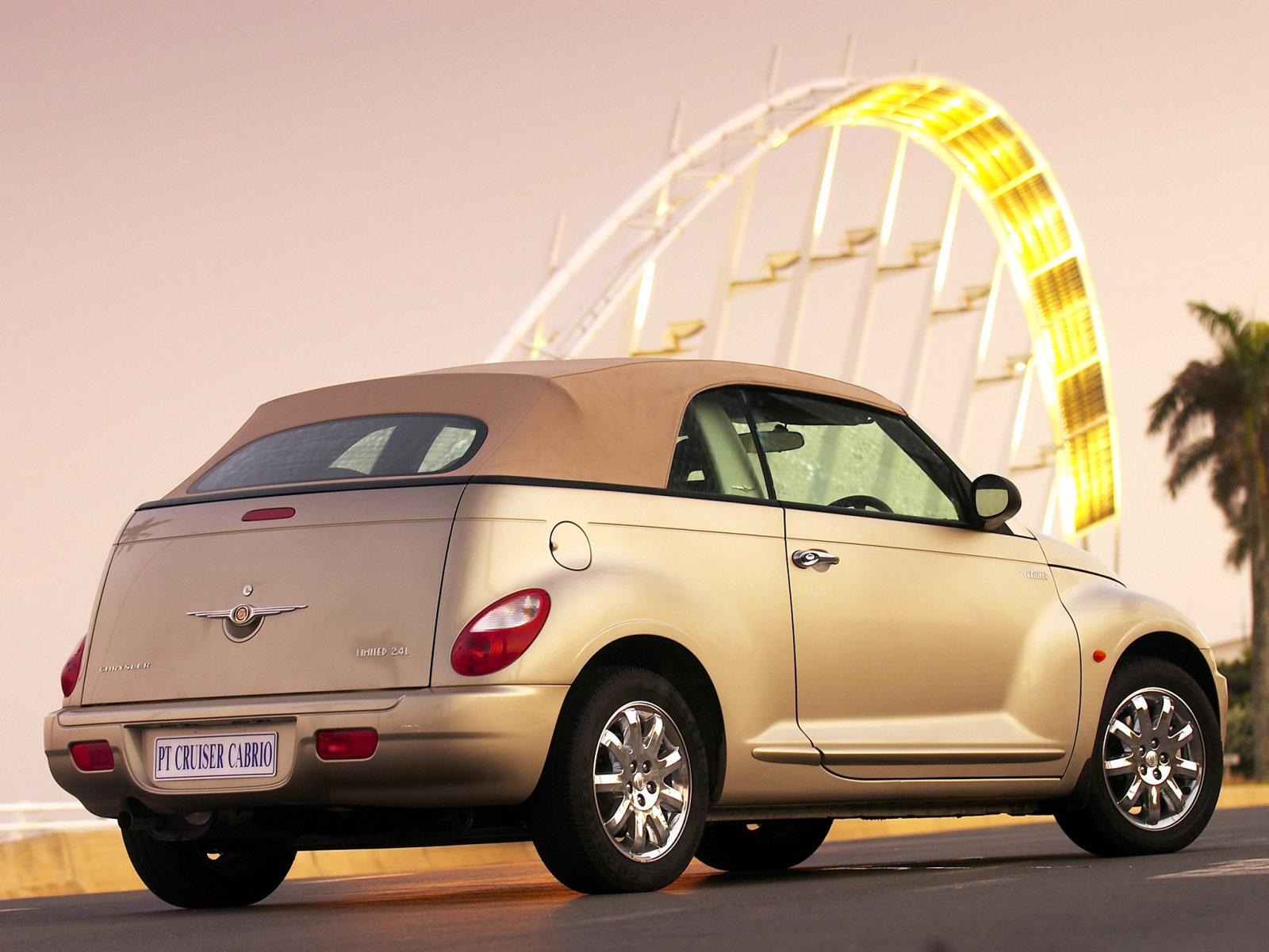 Chrysler (Крайслер) PT Cruiser Cabrio 2006-2010 г.