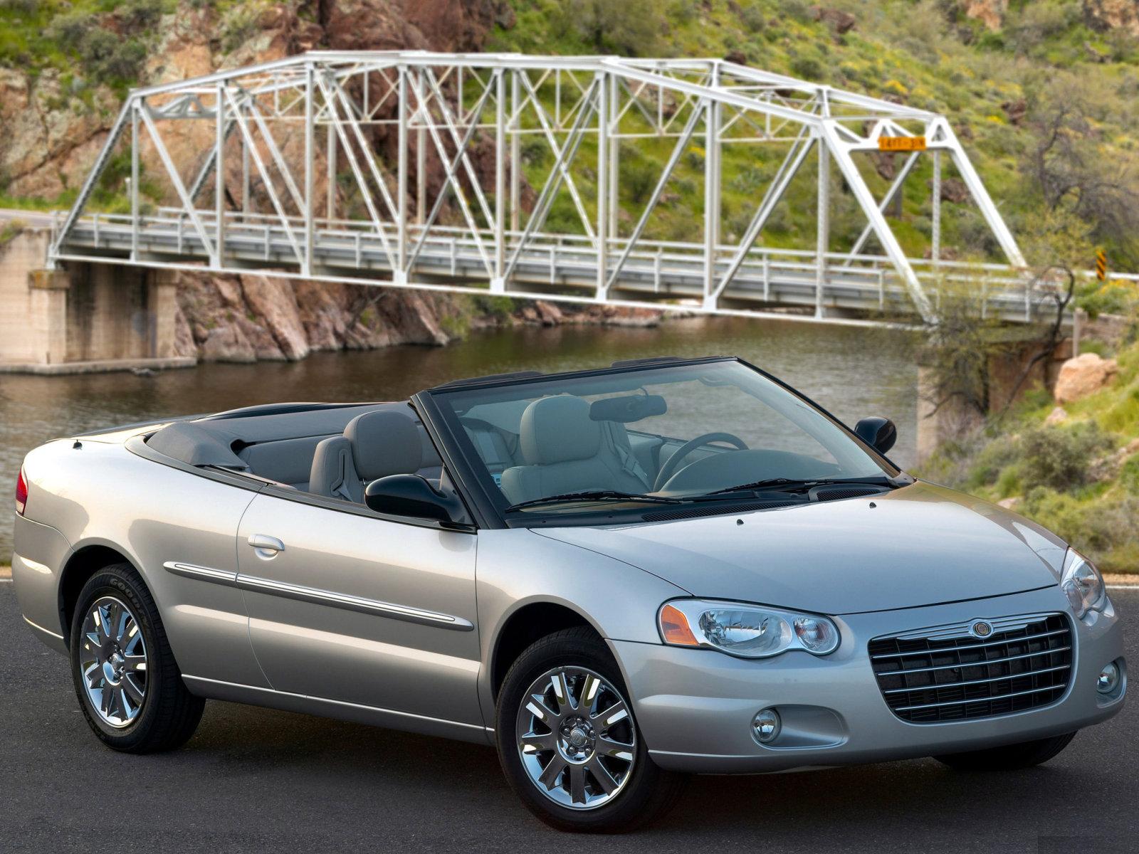 Chrysler (Крайслер) Sebring Cabrio 2003-2007 г.