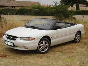 Chrysler Stratus 2 дв. кабриолет Stratus Convertible