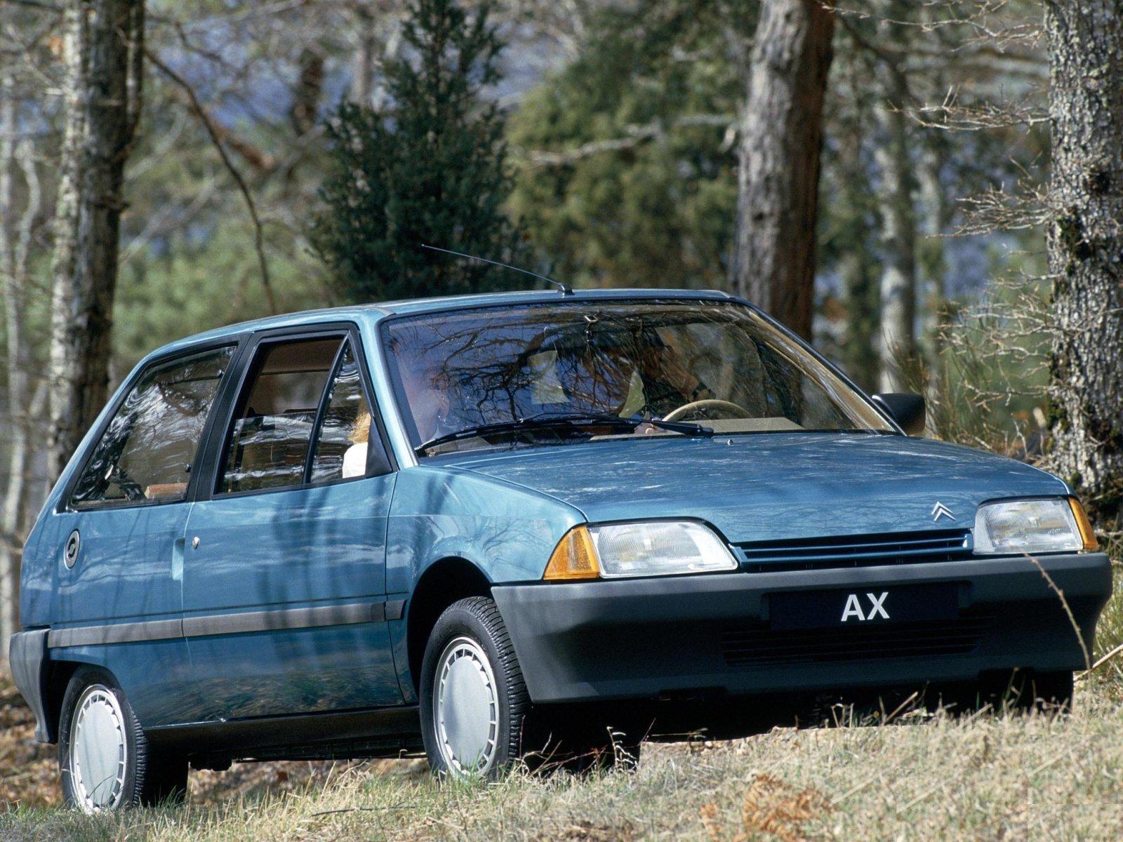 Citroen (Ситроен) AX 1987-1991 г.