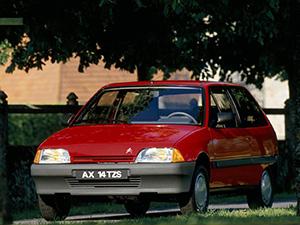 Технические характеристики Citroen AX Sport 1987-1991 г.