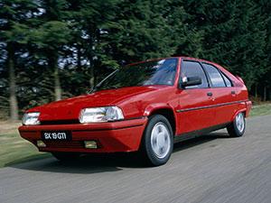 Технические характеристики Citroen BX 14 1989-1993 г.
