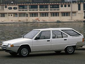 Технические характеристики Citroen BX 19 TRS 1986-1989 г.