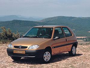Технические характеристики Citroen Saxo 1.4i 1999-2003 г.