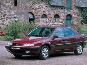 Технические характеристики Citroen Xantia 1.8i 16V 1998-2001 г.