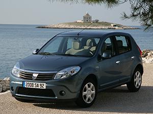 Технические характеристики Dacia Sandero