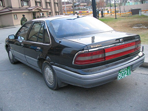 Daewoo Brougham 4 дв. седан Brougham