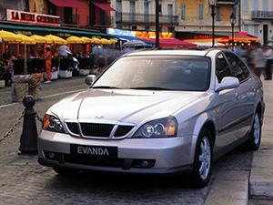 Технические характеристики Daewoo Evanda 2.0 2003-2004 г.