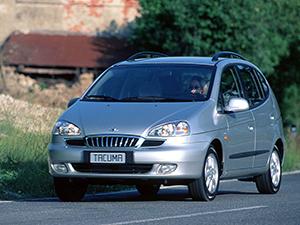 Технические характеристики Daewoo Tacuma 2.0 2000-2004 г.