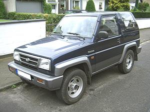 Daihatsu Feroza 3 дв. внедорожник Feroza