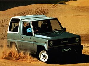 Технические характеристики Daihatsu Rocky
