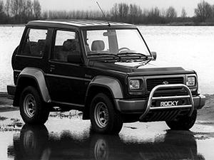 Rocky Hardtop с 1988 по 1994