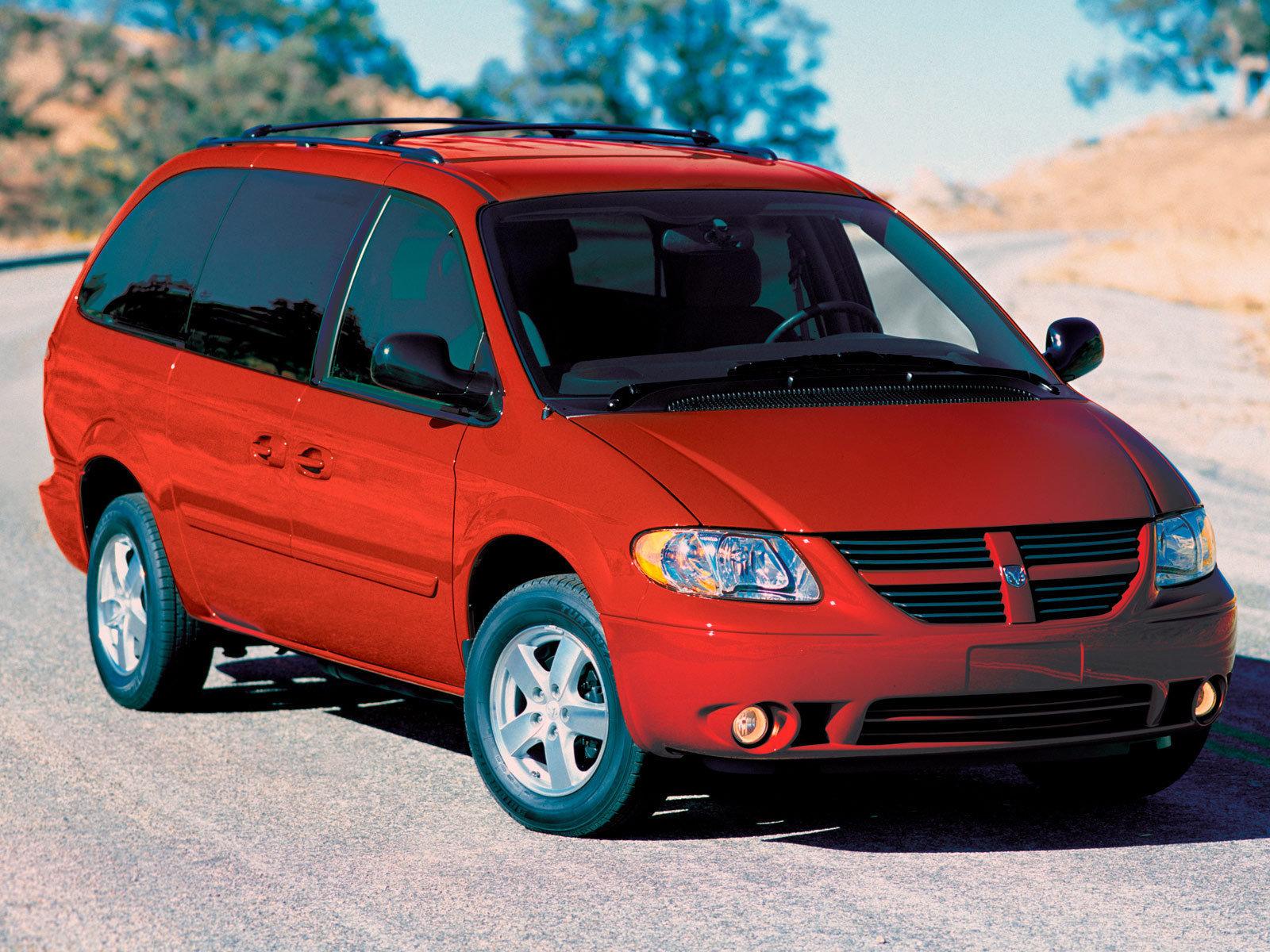 Dodge (Додж) Caravan 2001-2007 г.