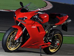 Ducati 1198 спортбайк 1198