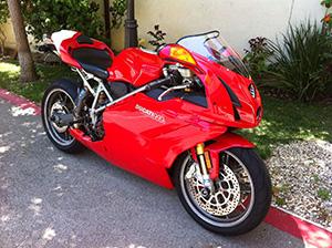 Ducati 999 спортбайк 999 S