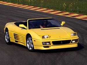 Технические характеристики Ferrari 348