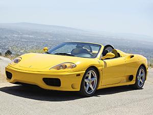 Технические характеристики Ferrari 360 Spider