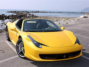 Технические характеристики Ferrari 458