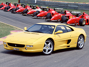 Технические характеристики Ferrari F 355 Berlinetta