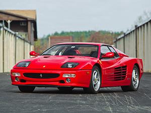 Технические характеристики Ferrari F 512