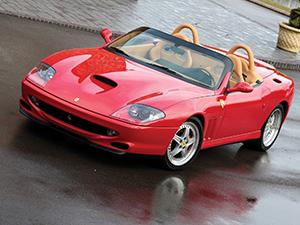 Технические характеристики Ferrari F550 Barchetta