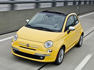 Fiat 500 2 дв. кабриолет 500C