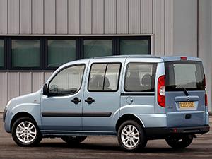Fiat Doblo 5 дв. минивэн Doblo Panorama