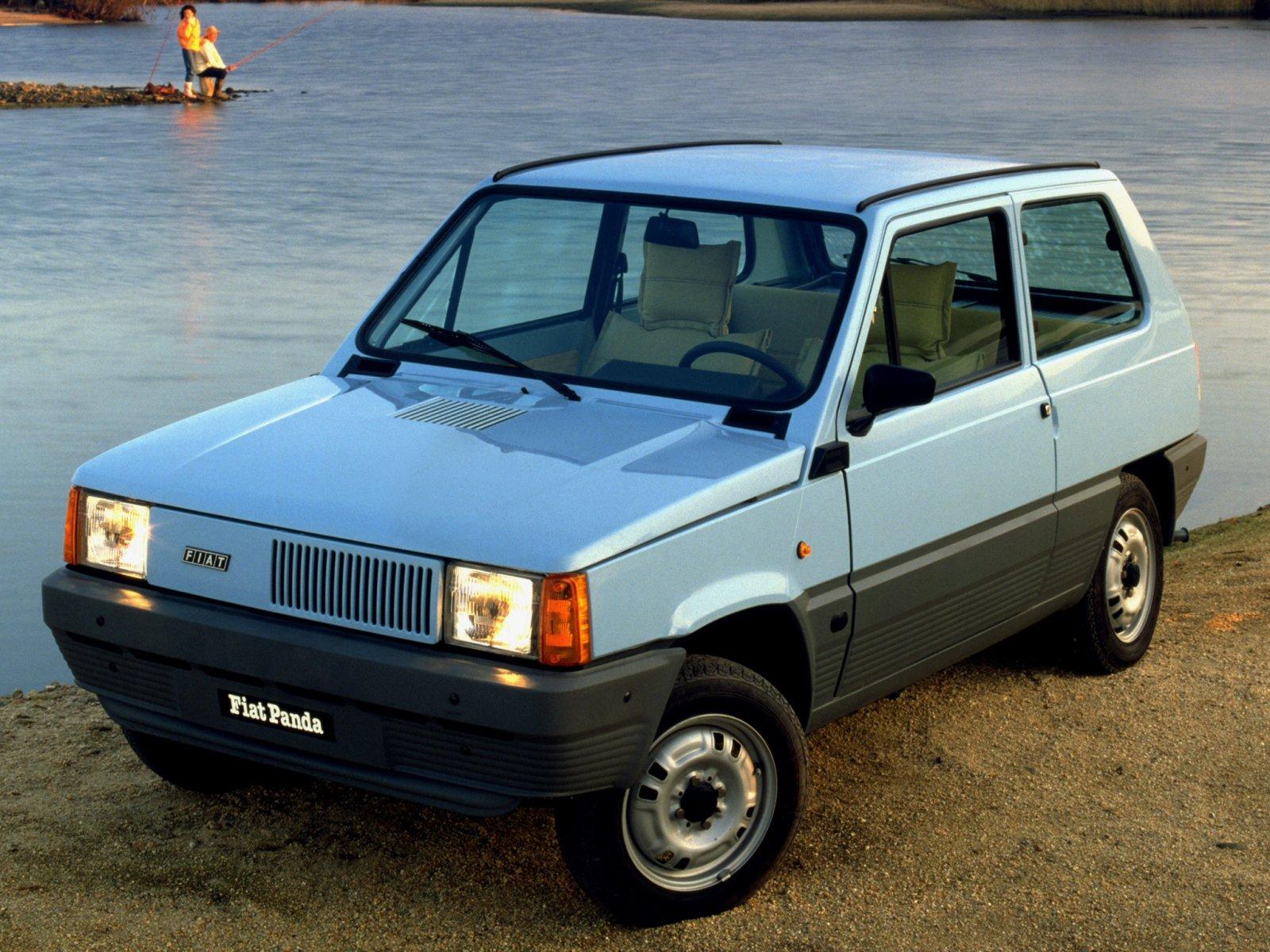 fiat panda 45 1980 характеристики