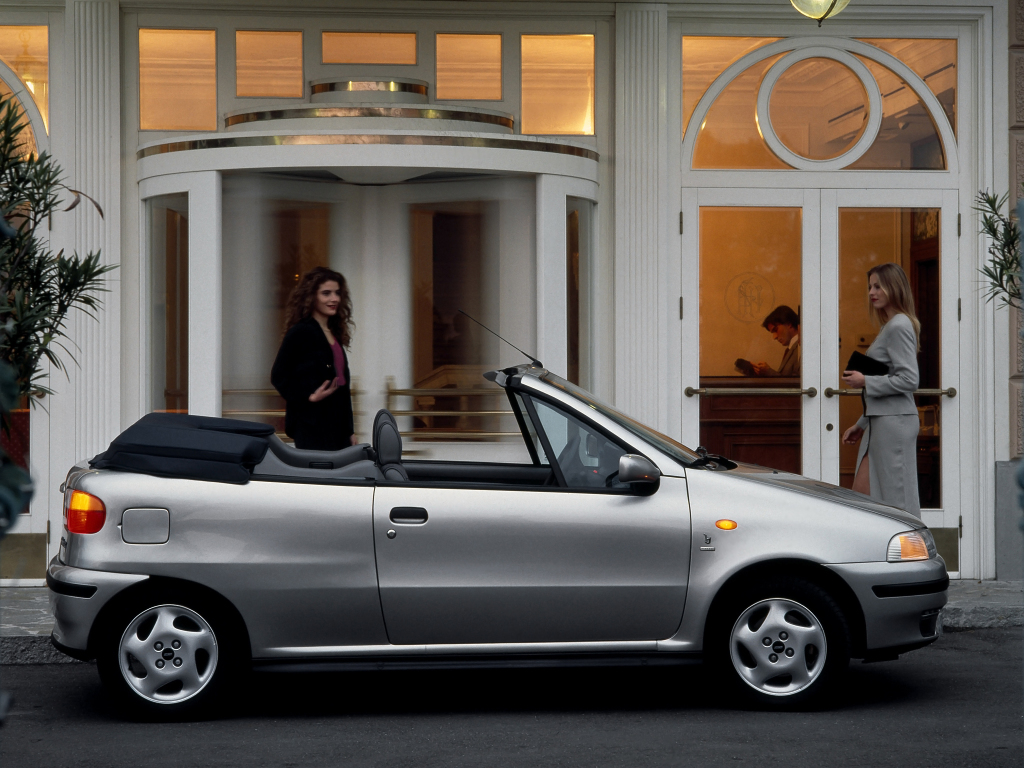 Fiat (Фиат) Punto Cabrio 1997-2000 г.